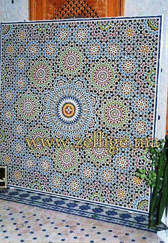 zellige maroc carreaux de mosa que salons en zellige. Black Bedroom Furniture Sets. Home Design Ideas