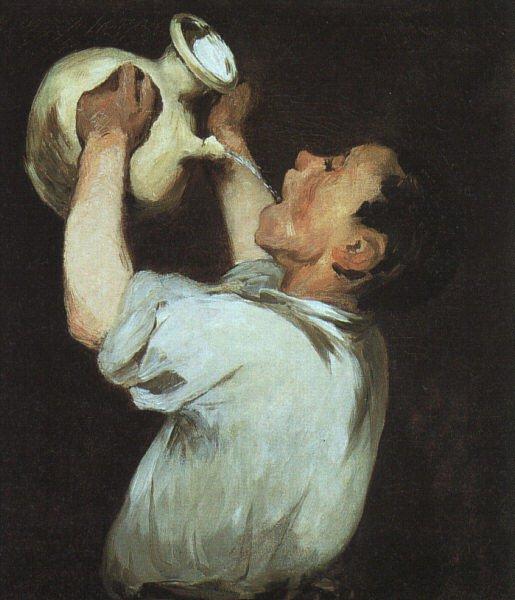 Edouard Manet 1832-1883 - Genre painting