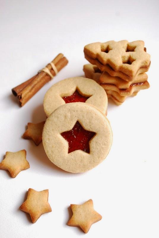 christmas cookies alla cannella e zucchero di canna