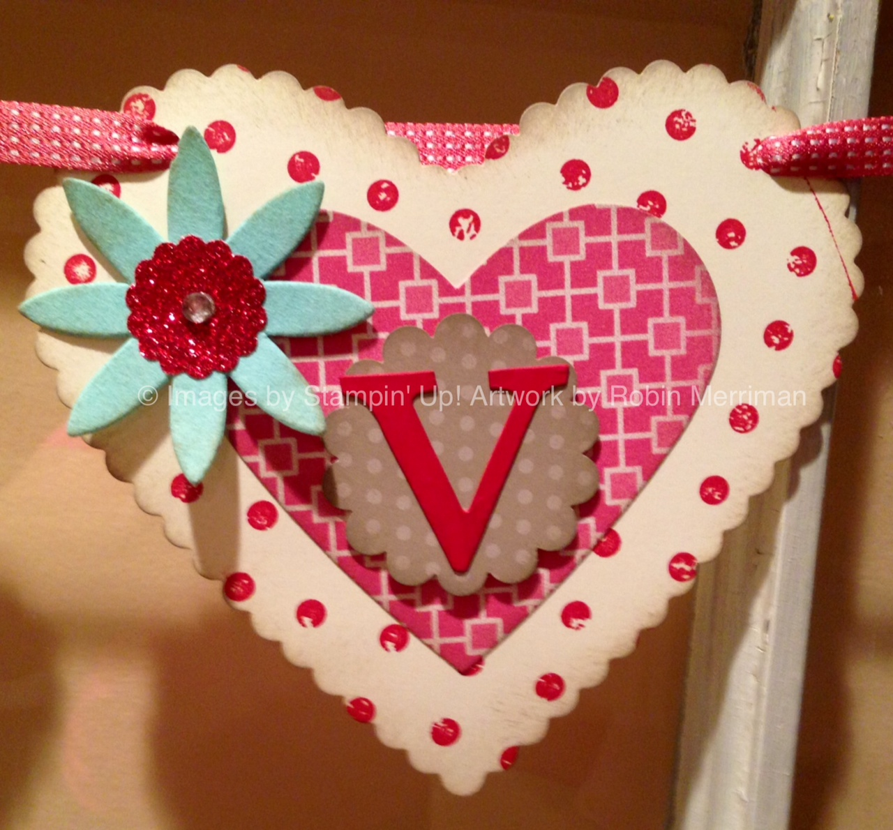 Trinity Designs Easy Heart Banner
