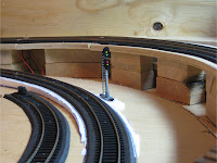 Handmade railroad signal