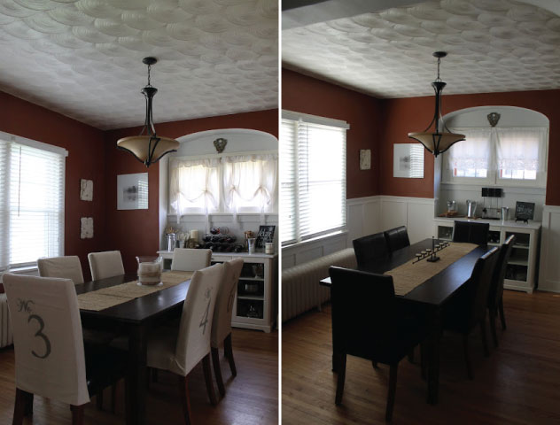 Wainscoting Dining Room Diy Intended Hammers And High Heels Wainscoting Tutorial Getting My Diy Groove Back