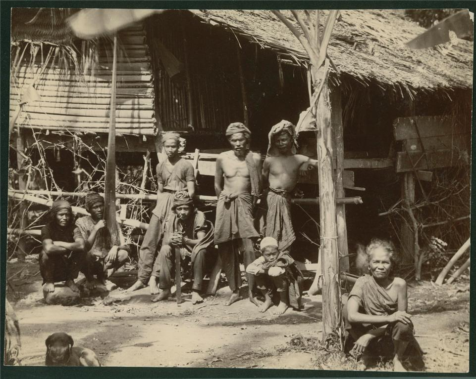 Photograph of a Tribal Family - Malwa 1890's