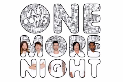 chord gitar Maroon 5 One More Night