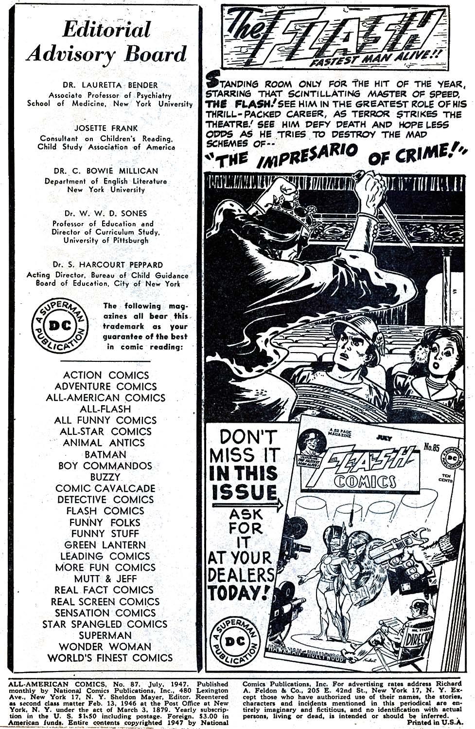 Read online All-American Comics (1939) comic -  Issue #87 - 2