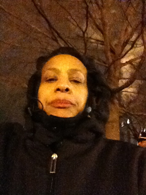 Skychitravels Woman Solo Traveler -  rode the bus in Washington D.C.  at 5 am to wait for 57th Inaugural Parade