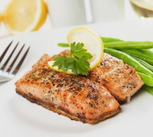 Today's recipe- Herb Baked Salmon