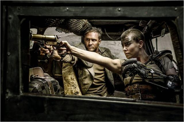 Charlize Theron en Mad Max: Furia en la Carretera