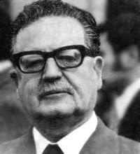Salvador Allende Preidente Martir de Chile
