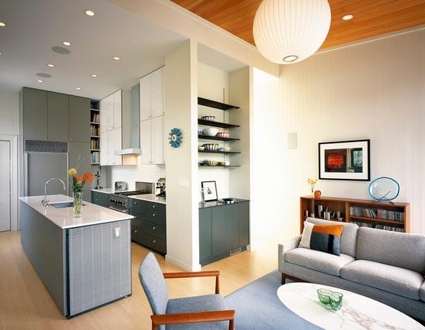 Inspirasi Desain Model Dapur Modern Minimalis Didekat Ruang Keluarga Bisa Mendekatkan Keromantisan Keluarga Anda