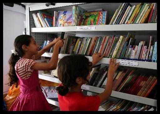 Palaestina felix una biblioteca mobile per i bambini e le for Mobile per bambini