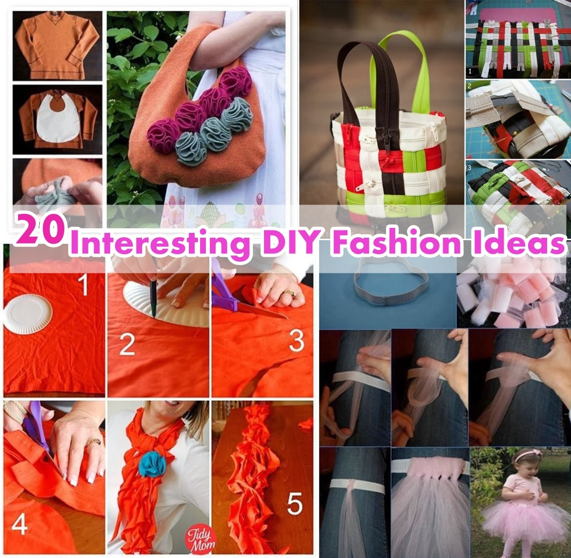 20 interesting diy fashion ideas diy craft projects