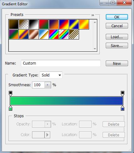 gradient fill
