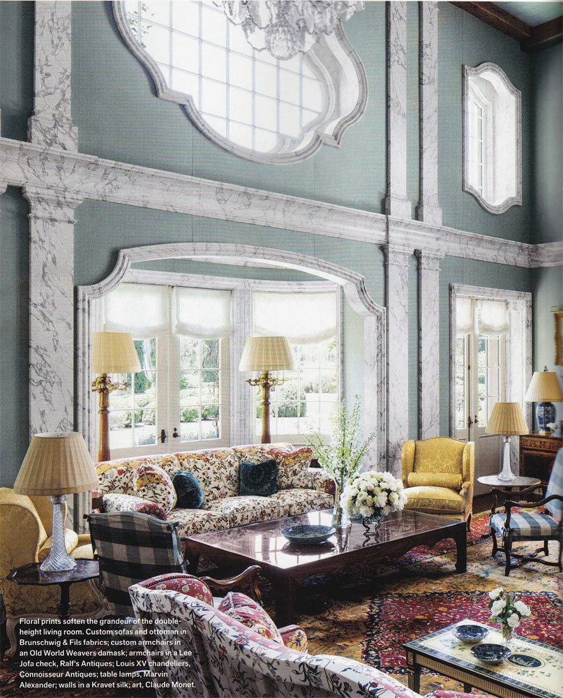 Classic design classic design 39 s work in veranda magazine for Veranda window design