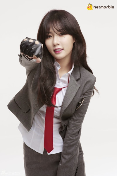 Hyuna 4minute Mystic Fighter