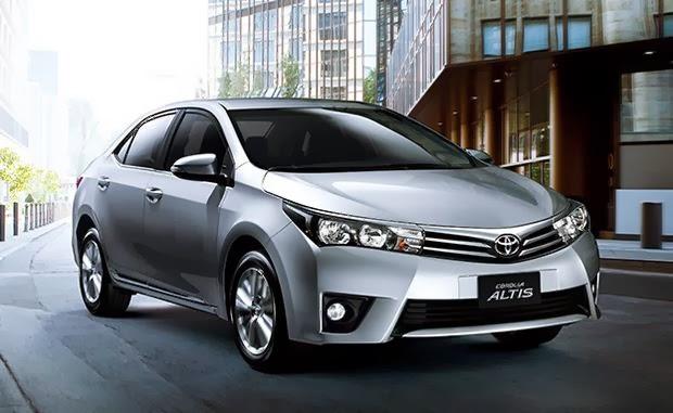 Alpha Autos: Alpha Notícias: Toyota Corolla 2015 chega a partir de R$