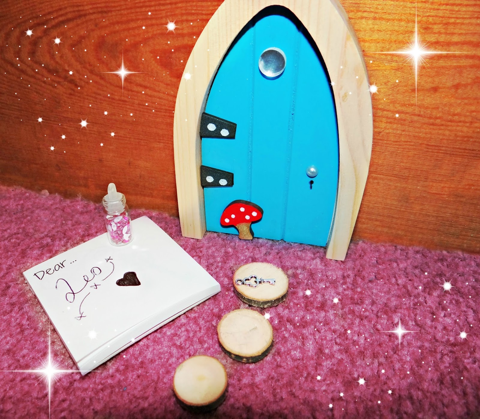 Life unexpected do you believe in magic i wonder for My irish fairy door