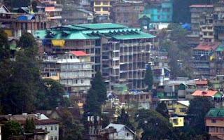 high illegal building in darjeeling town