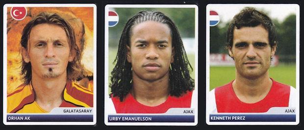 Panini 109 Aaron Hunt Werder Bremen UEFA CL 2007//08