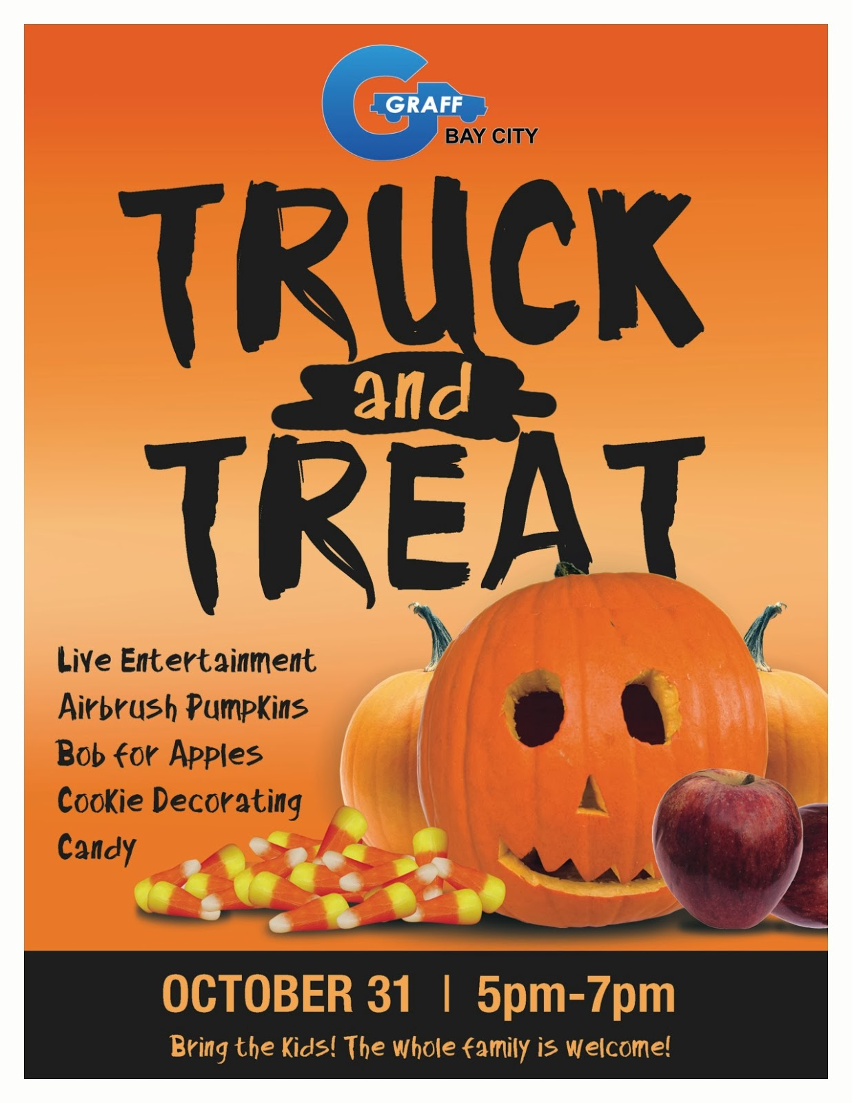 Truck and Treat at Graff Bay City