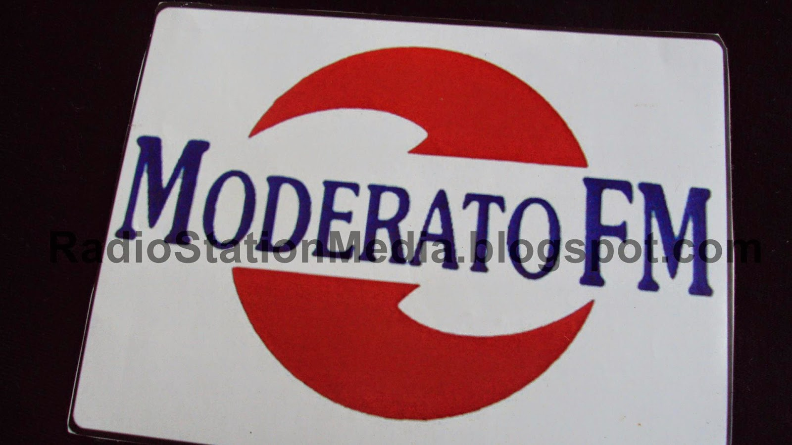 [Radio Sticker] Moderato FM 107.2 Madiun, East Java-Indonesia