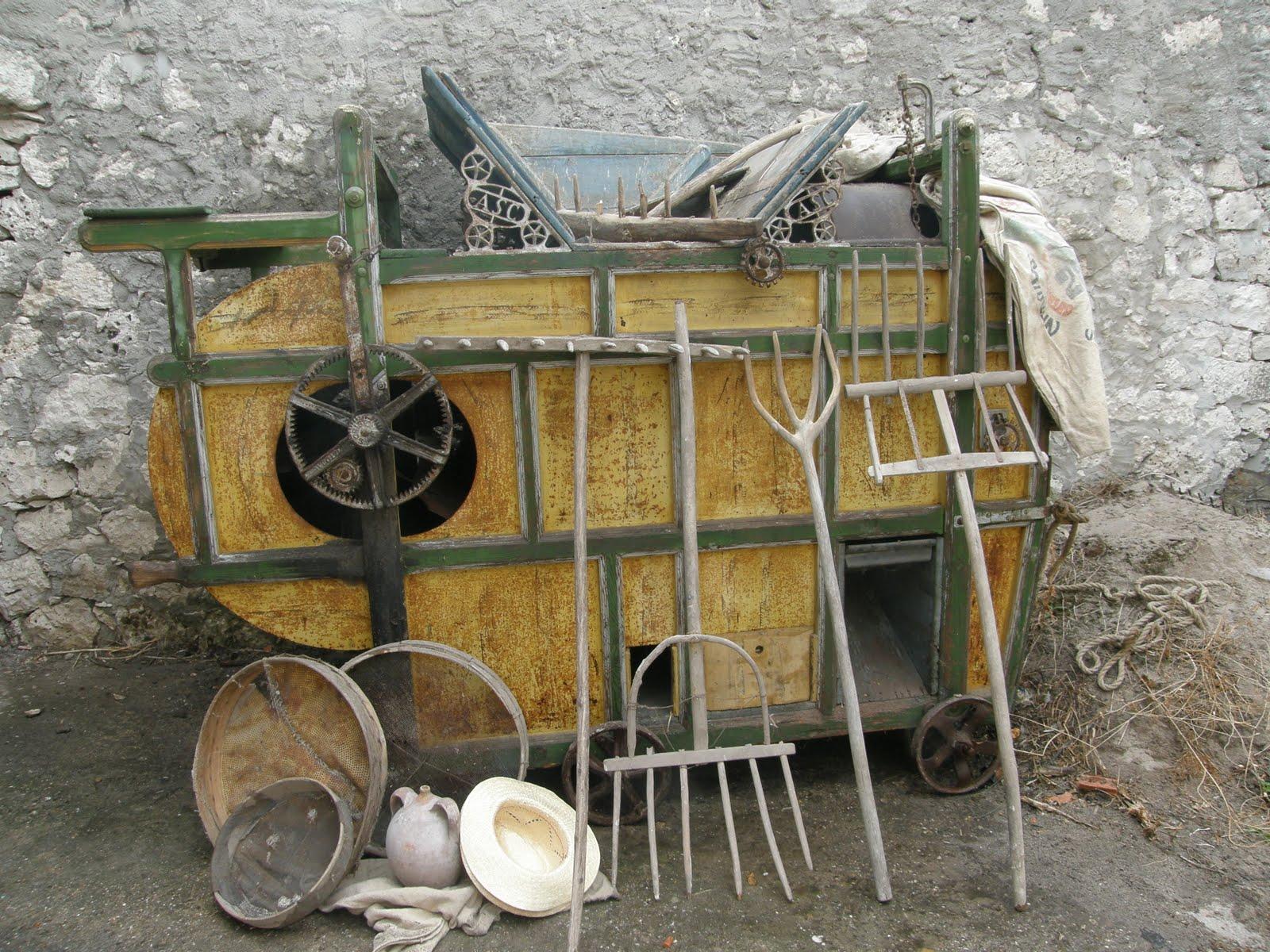 Tractores antiguos con segadoras antiguas Doovi