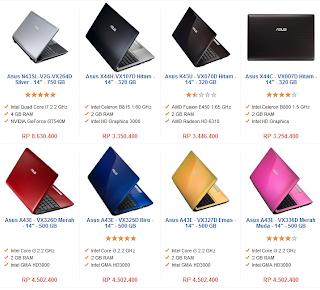 Harga laptop terbaru murah berkualitas