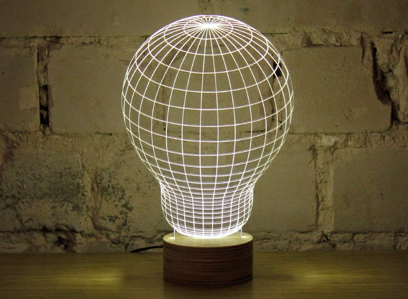 optical illusion lamp