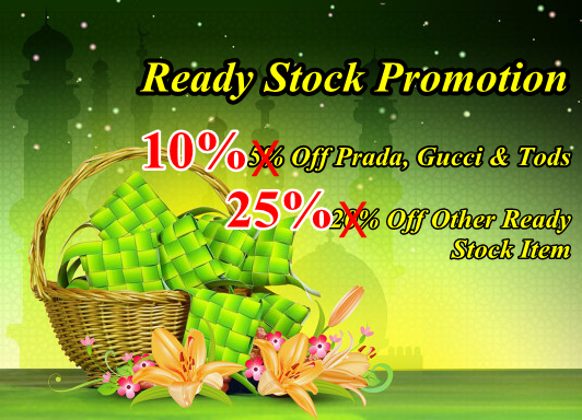 Ready Stock Promotion