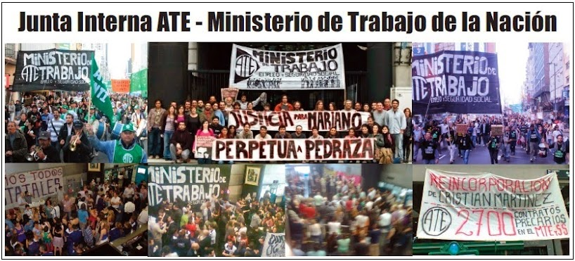 Junta Interna ATE - Ministerio de Trabajo