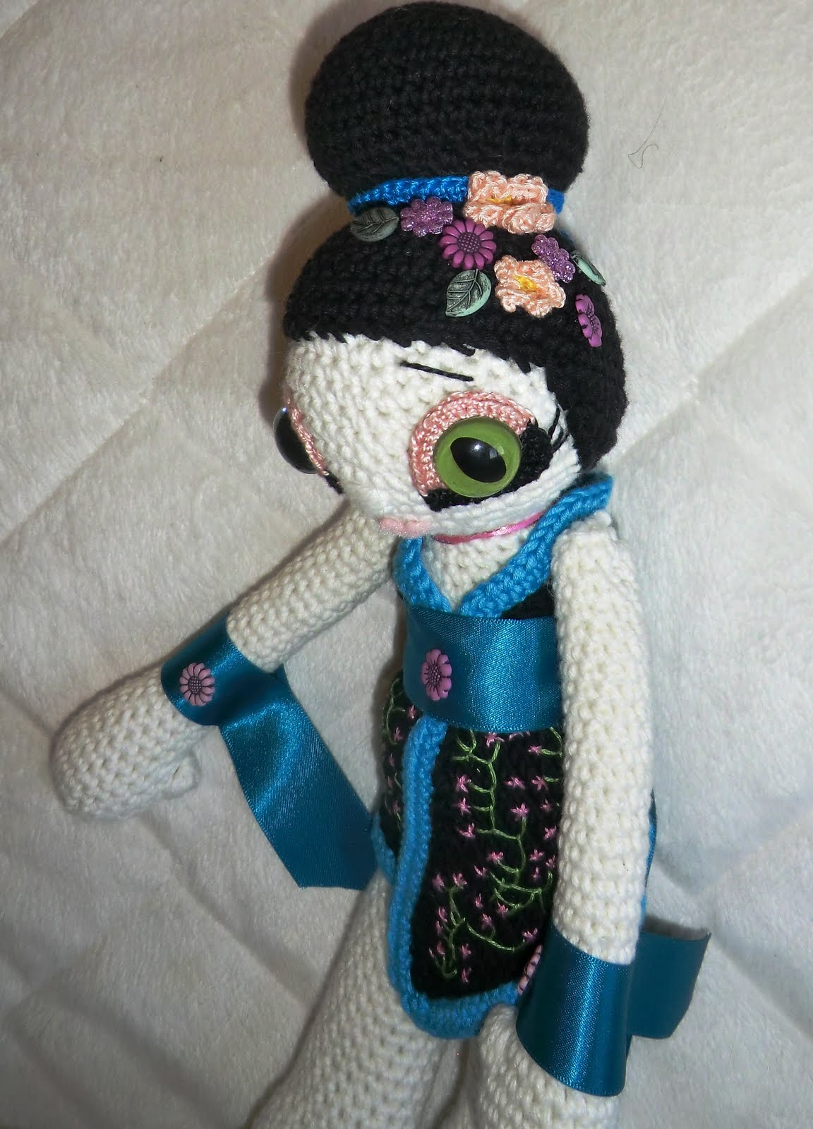 Amigurumi Geisha Tutorial : Amigurumi Barmy: Geisha girl