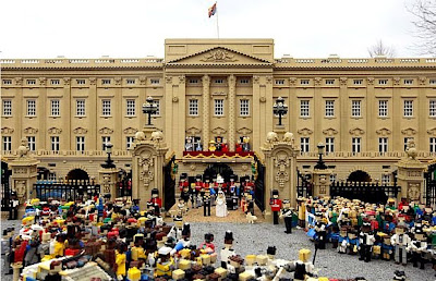 royal wedding in legoland lego