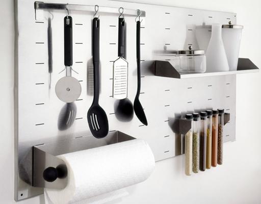 Decoraci n f cil accesorios de pared para organizar la cocina - Ikea accesorios cocina ...