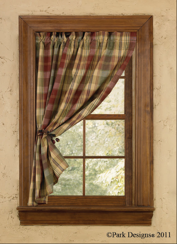 Country Window Curtains