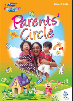 FEATURED IN COVER DRYPERS MAGAZINE - HAPPY FAMILY CLUB: PARENT'S CIRCLE