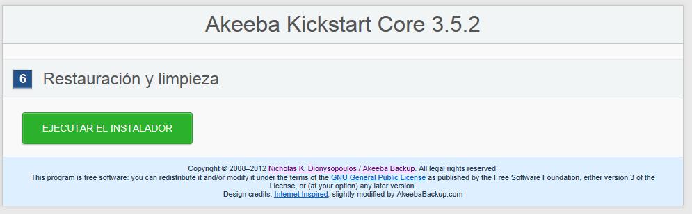how to use akeeba backup