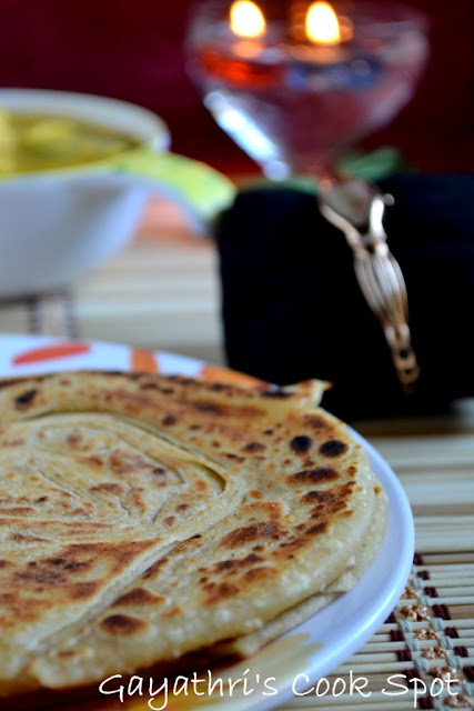 Valentine's Day Celebration and Varqui Paratha