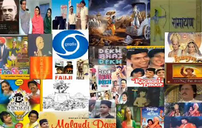Collage of Popular Serials Telecasted on DD