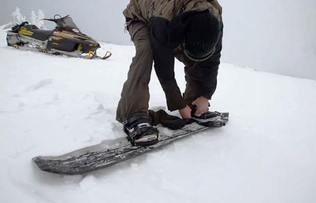 Snowboard feito numa Impressora 3D