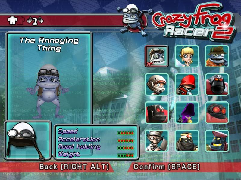 Crazy Frog Racer 2 (Video Game) Review