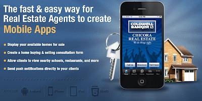 Mobile apps for real estate agency, Dovetanet Marketing