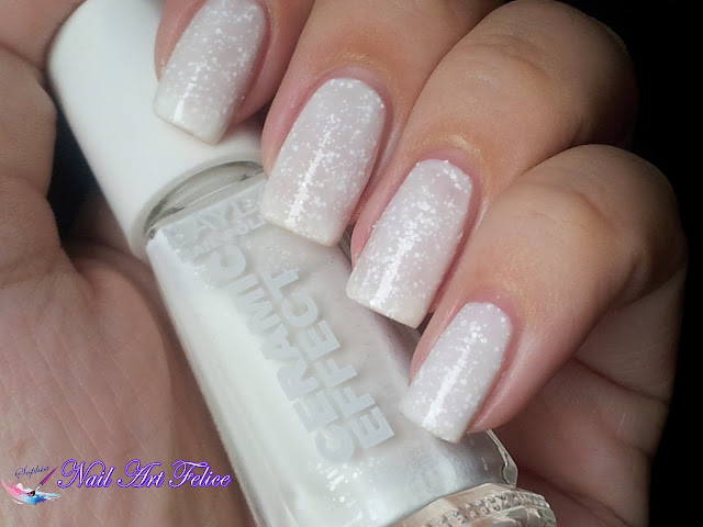 CE100 Snow Mousse - Ceramic Sorbet Effect Layla - Swatch02 - Nail Art Felice