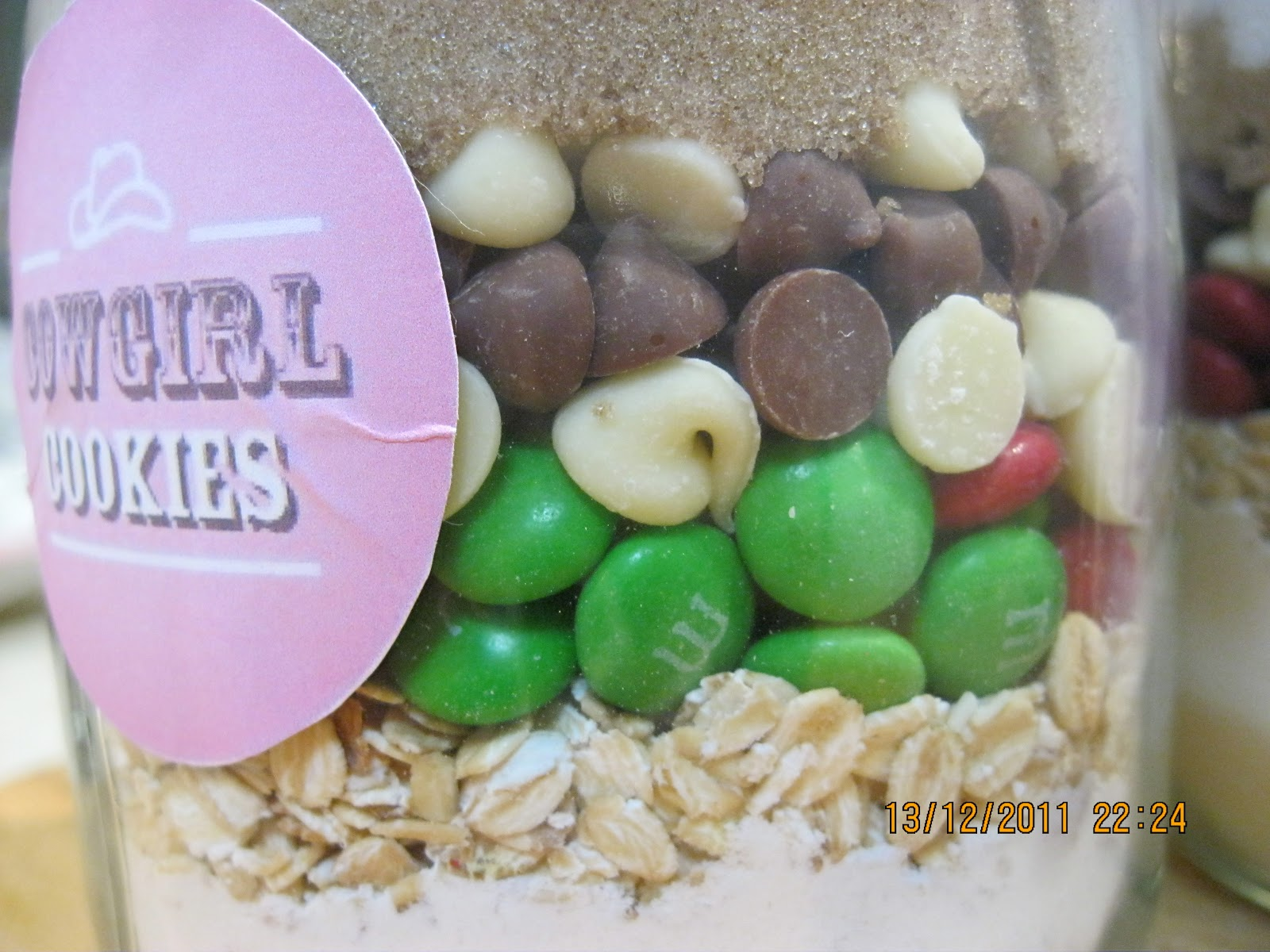What would Martha do?: Edible Gifts - Cowgirl Cookie Jar Mix