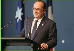 Encuesta asegura que el 73% de la izquierda francesa no quiere repostulación de Hollande