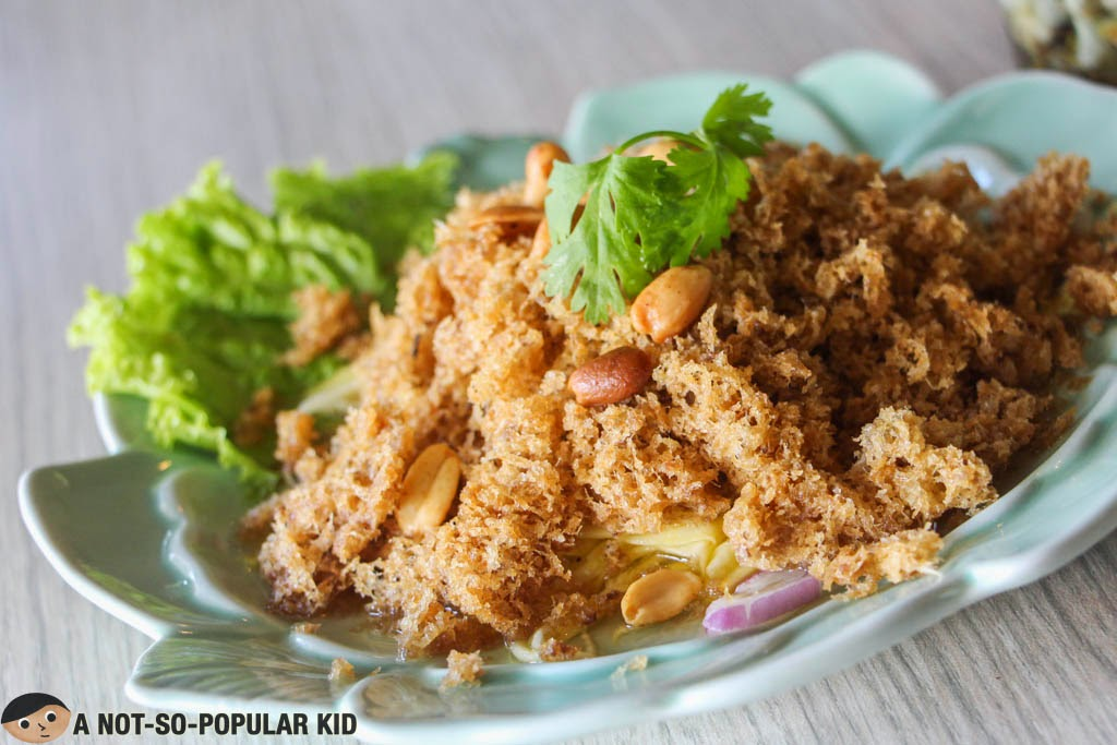 "The unique ""salad"" dish called Crispy Catfish Salad of Songkran"