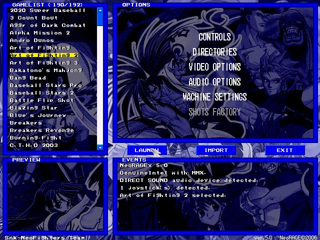 Free Neo Geo Emulator Software