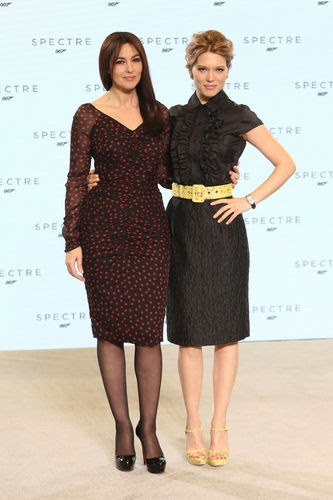Bond girls Monica Bellucci & Lea Seydoux