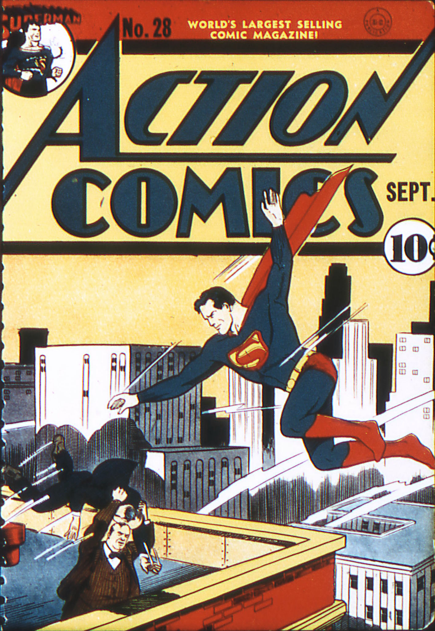 Action Comics (1938) 28 Page 1
