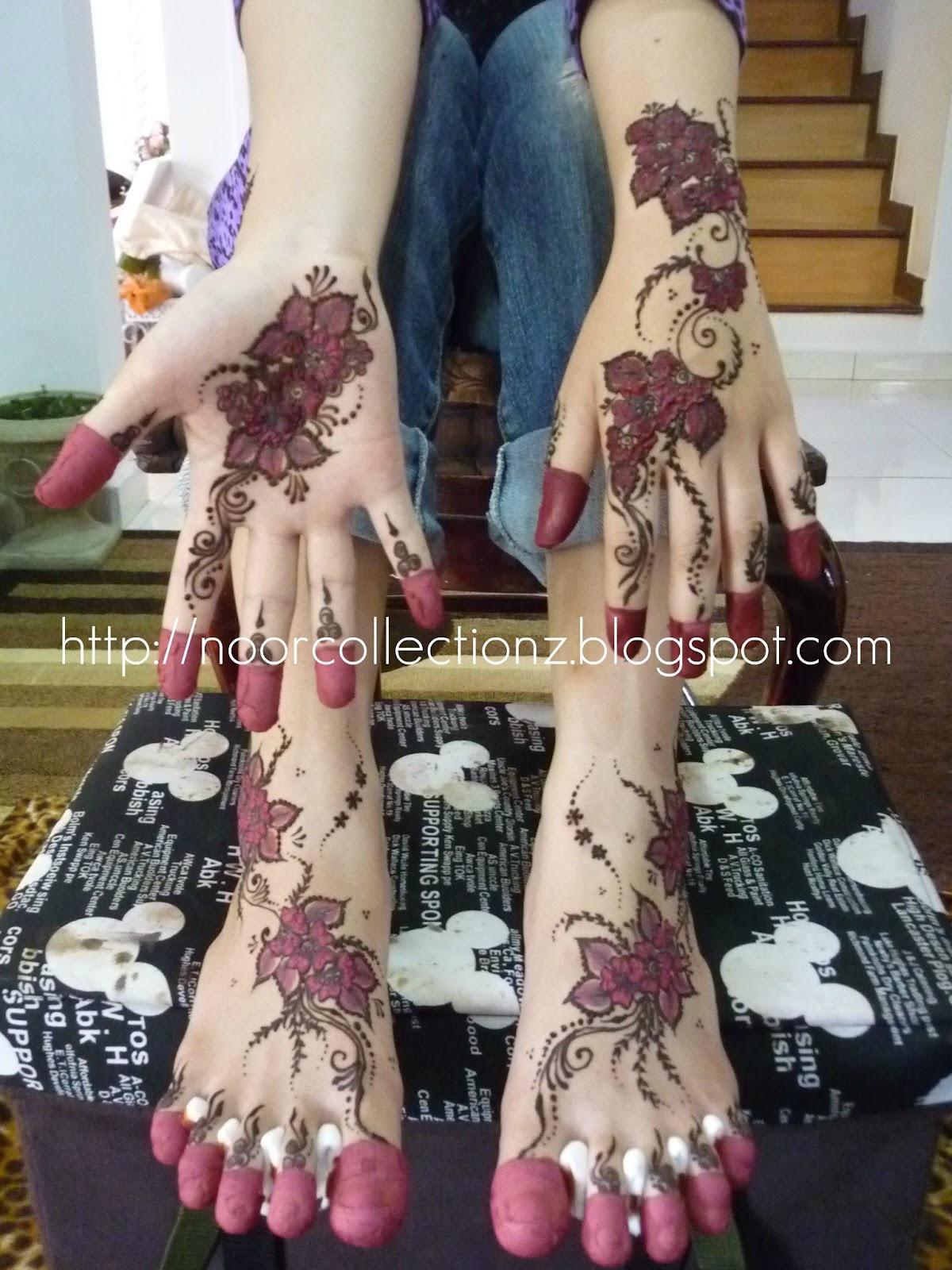 Sharz And Catz Henna Inai Untuk Perkahwinan