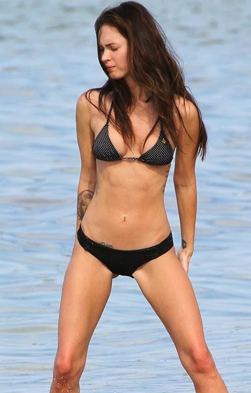 Labels bikini megan fox trend fashion 2013